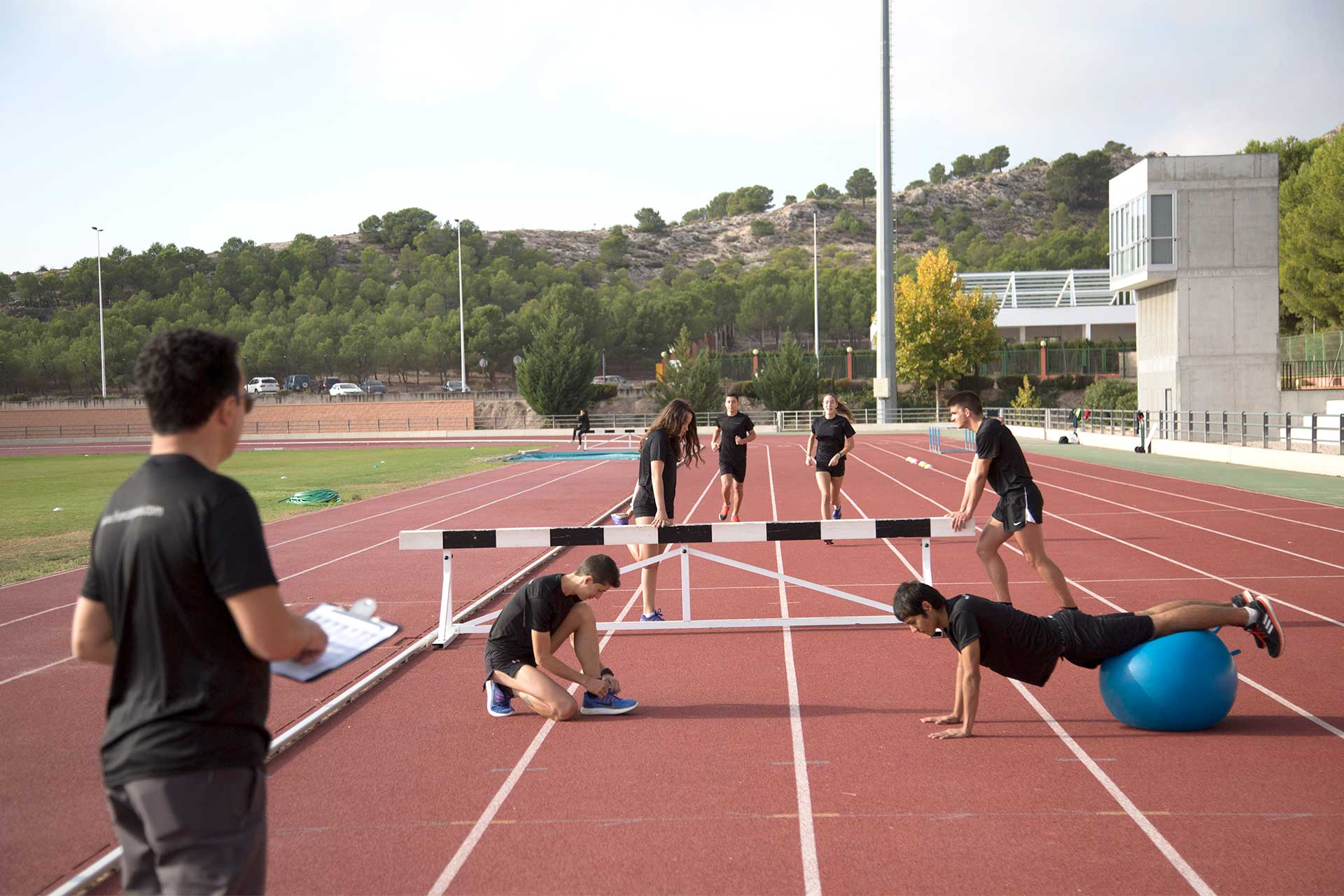Formación atletismo